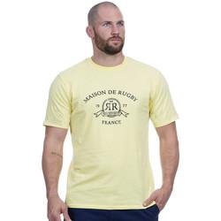 Vêtements Homme T-shirts manches courtes Ruckfield T-shirt jaune maison de rugby Jaune