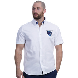 Vêtements Homme Chemises manches courtes Ruckfield Chemise blanche we are rugby Blanc