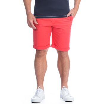 Vêtements Homme Shorts / Bermudas Ruckfield Bermuda chino rouge Rouge