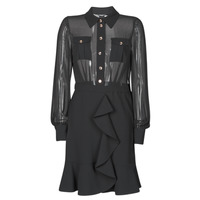Vêtements Femme Robes courtes Marciano CAROL SHORT DRESS Noir