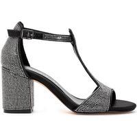 Chaussures Femme Sandales et Nu-pieds Café Noir GLD912 NERO
