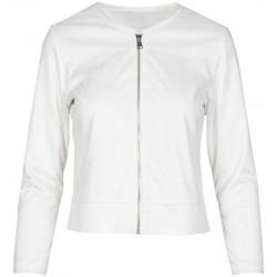Vêtements Femme Vestes / Blazers Anonyme Veste Ginko Corinne blanche  ANYP130SJ163 WHIT Blanc