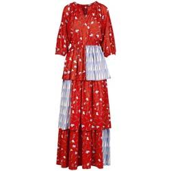 Vêtements Femme Robes longues Anonyme Robe Deborah Leafs orange  ANYA220SD029 ORANGE Orange