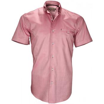 Vêtements Homme Chemises manches courtes Emporio Balzani chemisettes oxford filippi bordeaux Bordeaux
