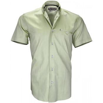 Vêtements Homme Chemises manches courtes Emporio Balzani chemisettes oxford filippi vert Vert