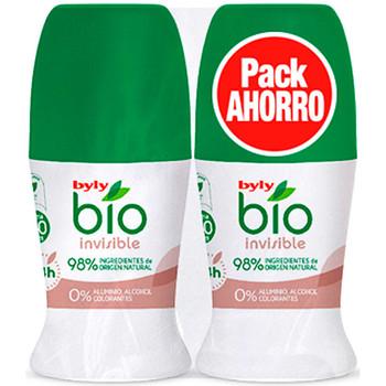 Beauté Déodorants Byly Bio Natural 0% Invisible Deo Roll-on Coffret 2 Pz 2 u