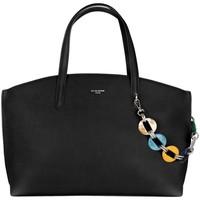 Sacs Femme Cabas / Sacs shopping David Jones Grand Sac à Main Cabas Fourre-Tout Noir