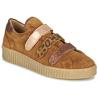 Chaussures Femme Baskets basses Philippe Morvan ZEUS2 V1 SILKY CAMEL Marron