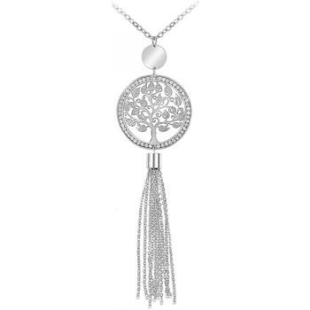 Montres & Bijoux Femme Colliers / Sautoirs Sc Crystal B2011 Argenté