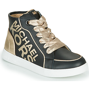Chaussures Fille Baskets montantes MICHAEL Michael Kors JEM HALEY Noir