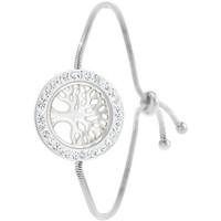 Montres & Bijoux Femme Bracelets Sc Crystal B2025-ARGENT Argenté