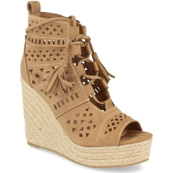 Chaussures Femme Sandales et Nu-pieds Buonarotti 1A-0005 Beige