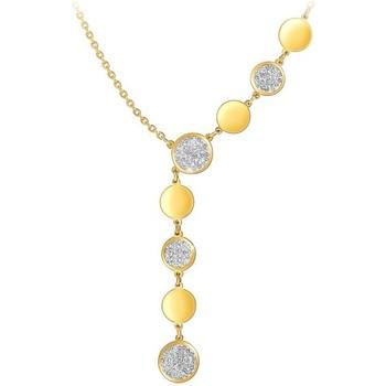 Montres & Bijoux Femme Colliers / Sautoirs Sc Crystal B2038-DORE Doré