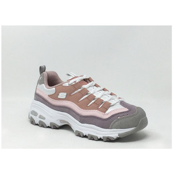 Chaussures Femme Baskets basses Skechers D'LITES SURE THING ROSE Rose