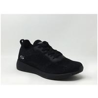 Chaussures Baskets basses Skechers BOBS SQUAD TOTAL GLAM Noir