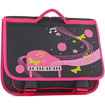 Sacs Fille Cartables Miniprix Cartable   MUSIC 411-00001507 NOIR ROSE