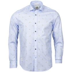 Vêtements Homme Chemises manches longues A Fish Named Fred - hauts BLEU CIEL