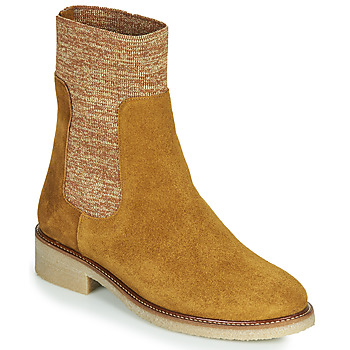 Chaussures Femme Boots Bensimon BOOTS CHAUSSETTE Marron