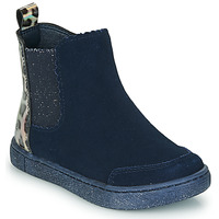 Chaussures Fille Boots Mod'8 BLANOU Marine / Leopard