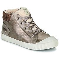 Chaussures Fille Baskets montantes Victoria HUELLAS METAL Argenté