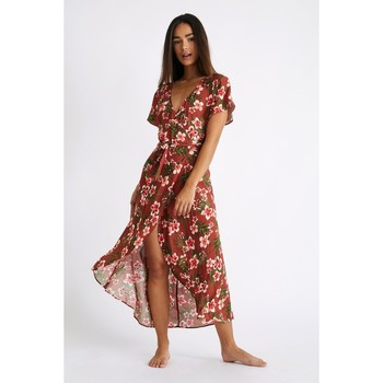 Vêtements Femme Robes longues Banana Moon GULIA NERIKA Marron
