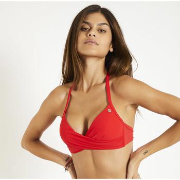 Vêtements Femme Maillots de bain séparables Banana Moon Haut de bikini - EYRO SPRING Rouge