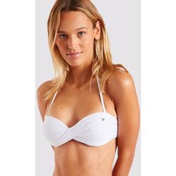 Vêtements Femme Maillots de bain séparables Banana Moon Haut de bikini - BORO ROMEO BLANC