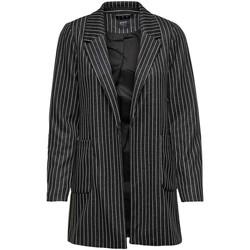 Vêtements Femme Vestes / Blazers Only ONLBAKER-AUBREE L/S STRIPE noir