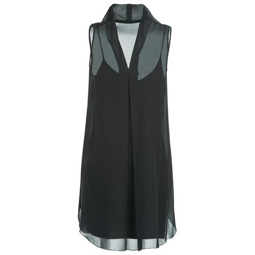 Vêtements Femme Robes courtes Naf Naf E-LALY Noir