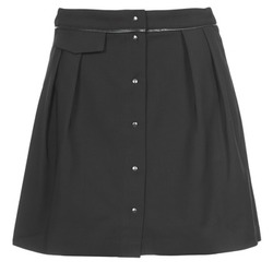 Vêtements Femme Jupes Naf Naf ELORA Noir