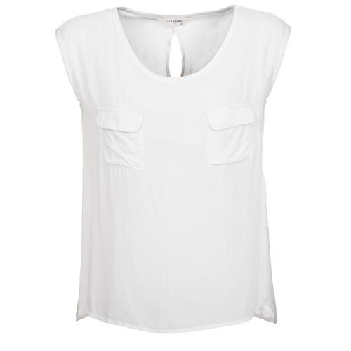 Vêtements Femme Débardeurs / T-shirts sans manche Naf Naf KLOPA Ecru