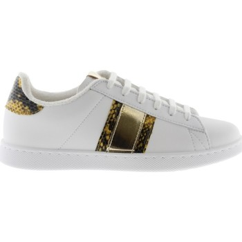 Chaussures Femme Baskets basses Victoria Basket Femme 1125231Or Blanc