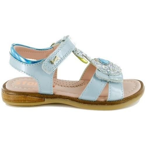 Chaussures Fille Ballerines / babies Stones And Bones 4339 SWAN bleu