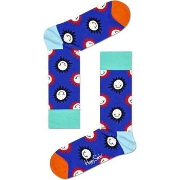Accessoires Homme Chaussettes Happy Socks Chaussettes Mixte Coton SUNSMILEY Bleu Bleu