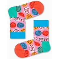 Accessoires Garçon Chaussettes Happy Socks Chaussettes Enfant Coton bio SWEATHEART Rose Rose