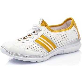 Chaussures Femme Baskets basses Rieker L32R0-80 Blanc