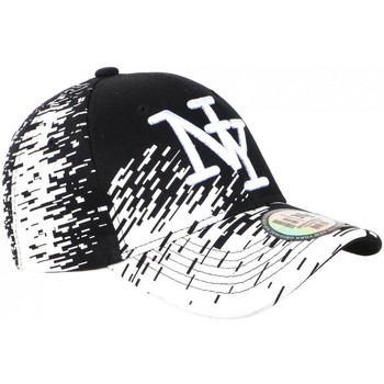 Casquette Hip Hop Honour Casquette NY Noire Tags Blancs City Fashion Baseball Noryk