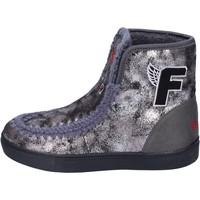 Chaussures Fille Bottines Fiorucci BM419 gris
