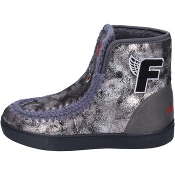 Chaussures Fille Bottines Fiorucci bottines cuir synthétique gris