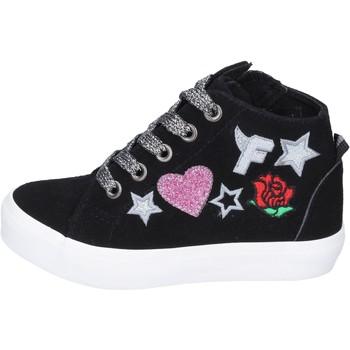 Chaussures Fille Baskets montantes Fiorucci BM420 noir