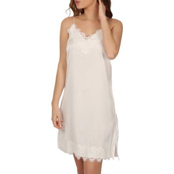 Vêtements Femme Pyjamas / Chemises de nuit Admas Nuisette Soft Crepe blanc Blanc