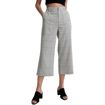 Vêtements Pantacourts Superdry SUMMER HOUSE WIDE LEG gris