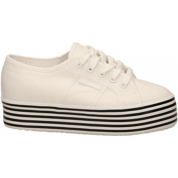 Chaussures Femme Baskets basses Superga 2790-MULTICOLOR COTW a0z-white-black-white-st