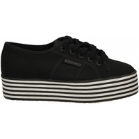 Chaussures Femme Baskets basses Superga 2790-MULTICOLOR COTW a1a-black-black-white-st