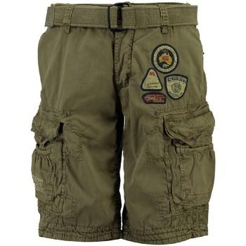 Vêtements Homme Shorts / Bermudas Geographical Norway Bermuda Homme Presbul New Marron