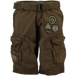 Vêtements Homme Shorts / Bermudas Geographical Norway Bermuda Homme Presbul New Kaki