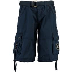 Vêtements Homme Shorts / Bermudas Geographical Norway Bermuda Homme Pantheon Bleu