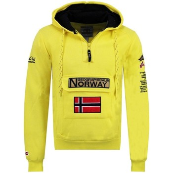 Vêtements Homme Sweats Geographical Norway Sweat Homme Gymclass Color Fluo Jaune