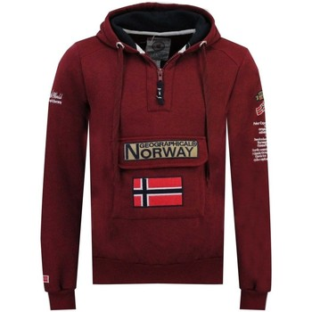 Vêtements Homme Sweats Geographical Norway Sweat Homme Gymclass Color Rouge