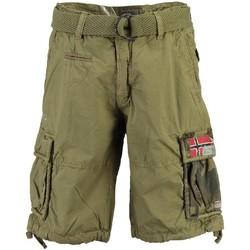 Vêtements Homme Shorts / Bermudas Geographical Norway Bermuda Homme Pasteque New Kaki
